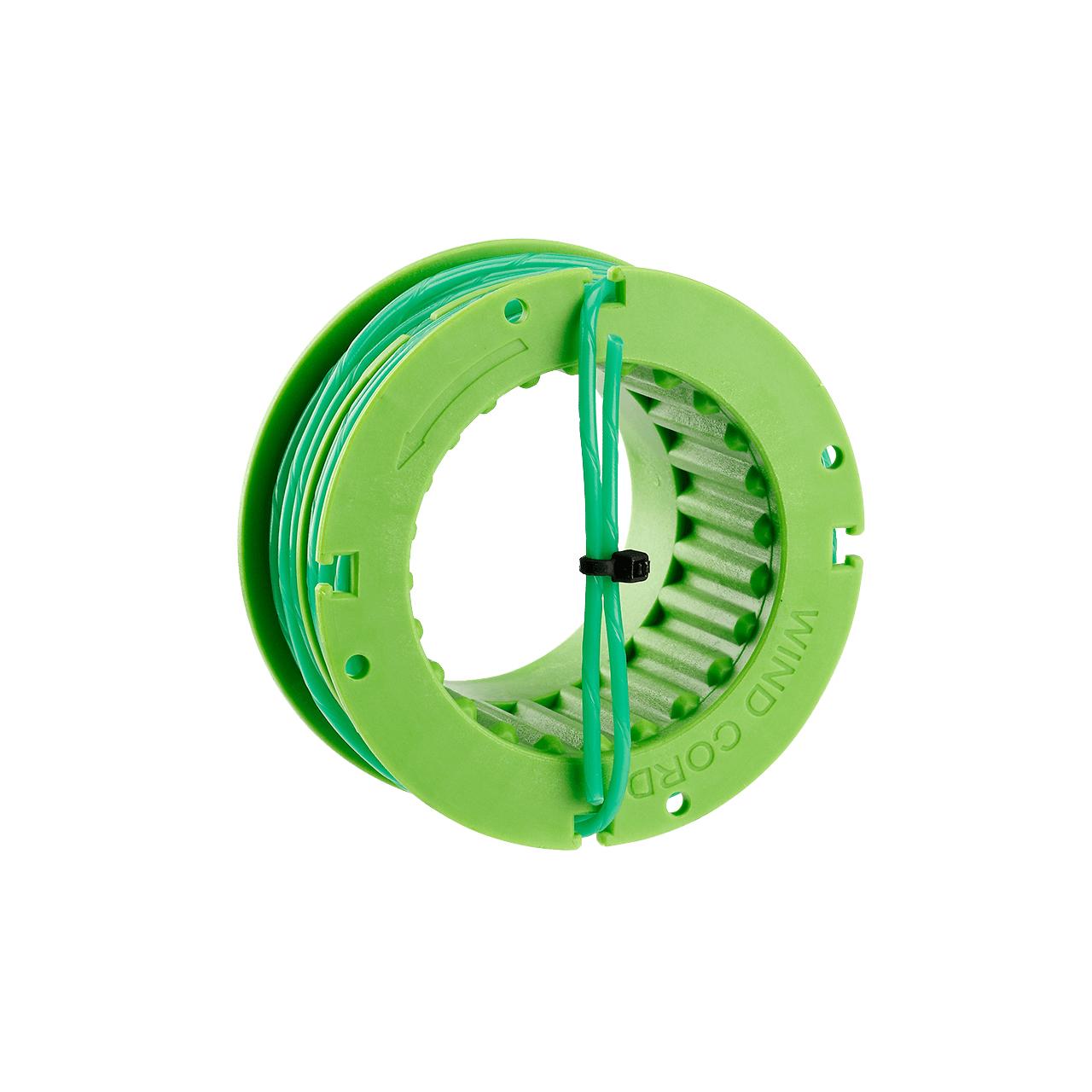 Rasentrimmerspule AS1302 mit 2,0 mm Twist-Faden für ST1300E, 7 Meter Fadenlänge