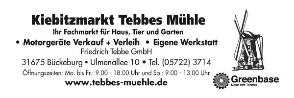 Tebbe's Mühle - Friedrich Tebbe GmbH