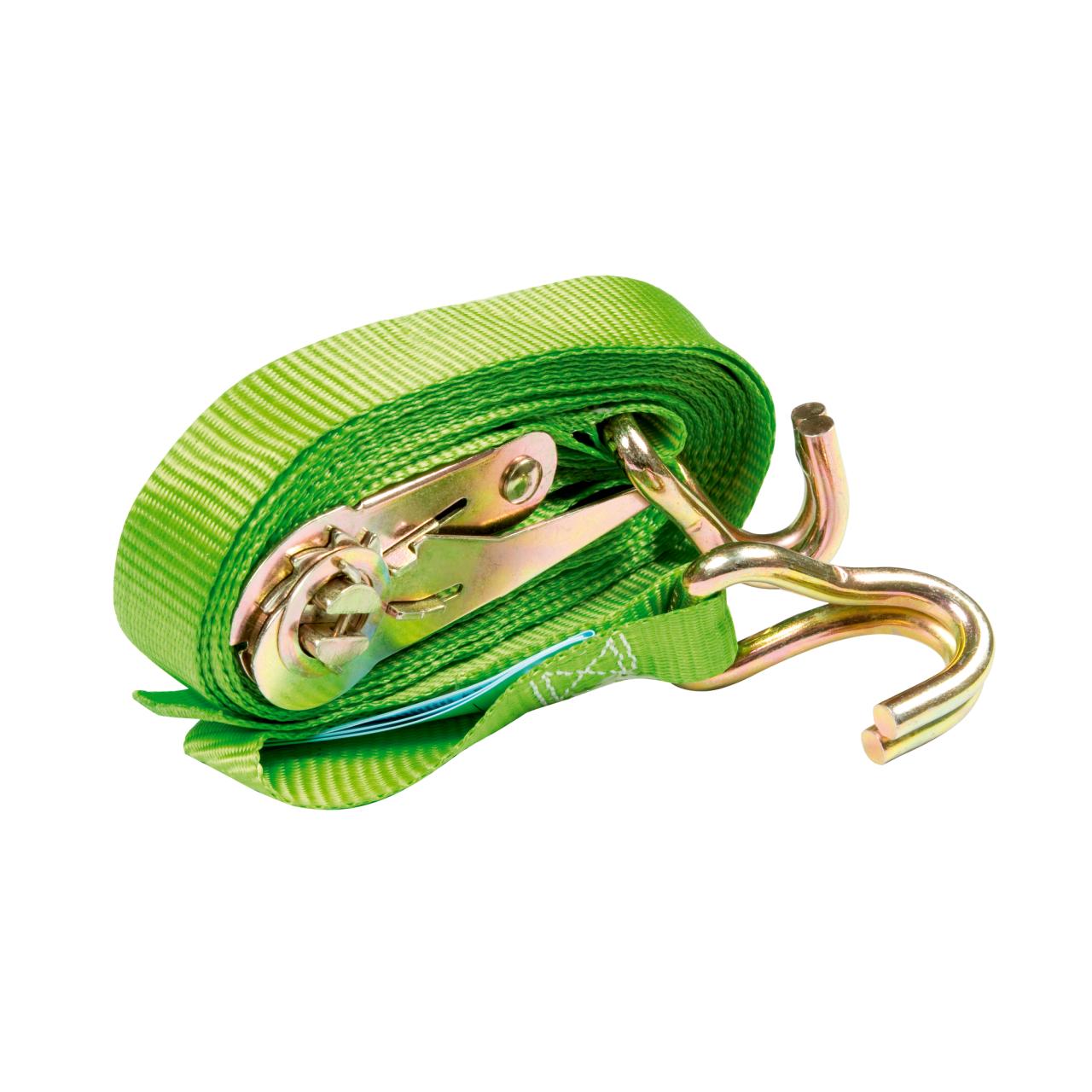 Zurrgurt grün 2-teilig