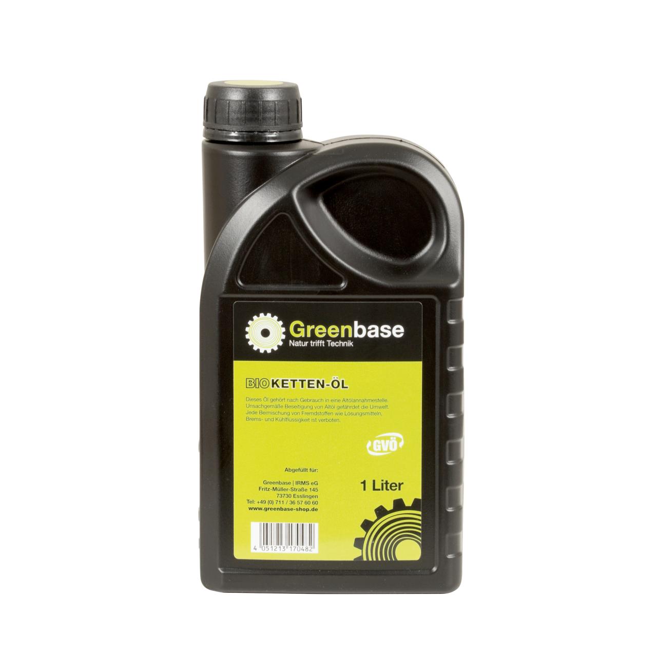 Kettenöl Bio 1 Liter Flasche
