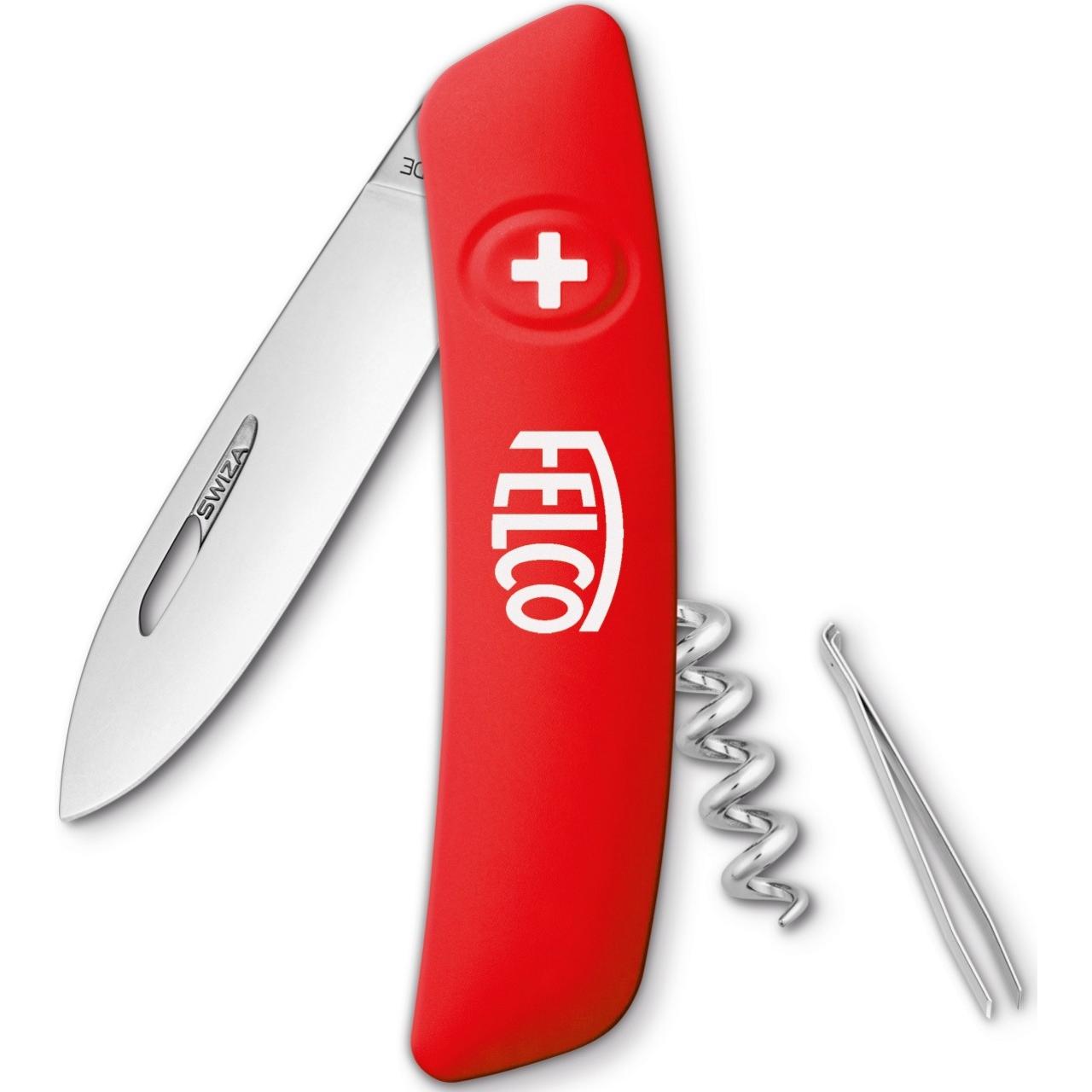 Schweizer Messer mit 4 Funktionen