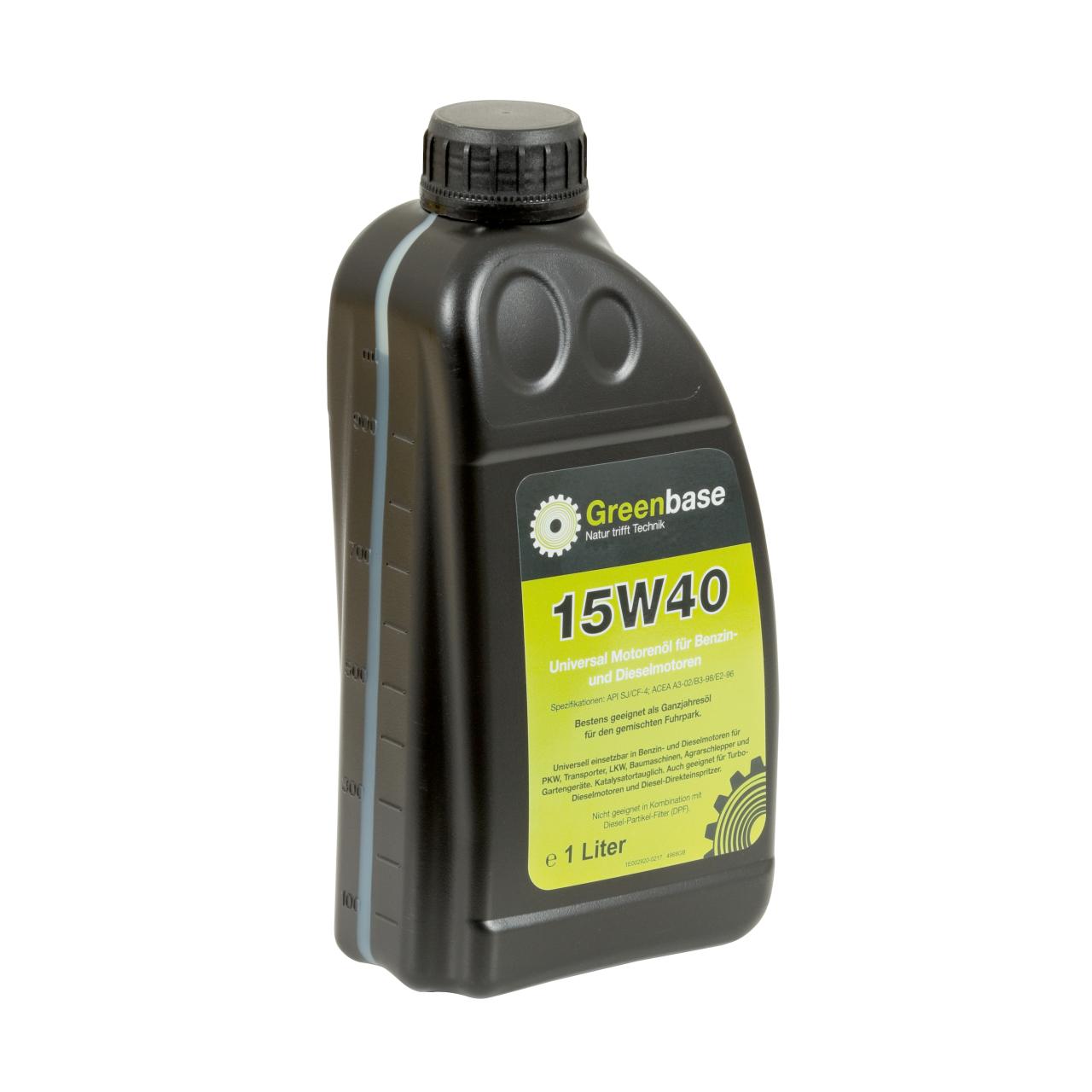 Motorenöl 15W40 API 1Ltr.Flasche