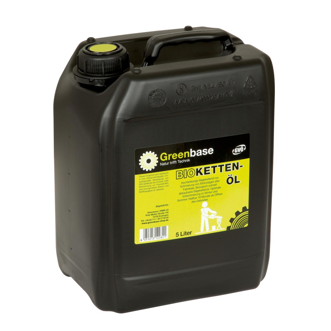 Kettenöl Bio 5 Liter Kanne