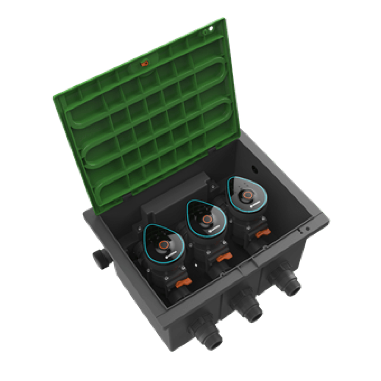 Ventilbox 9 V Bluetooth Aktion-Set