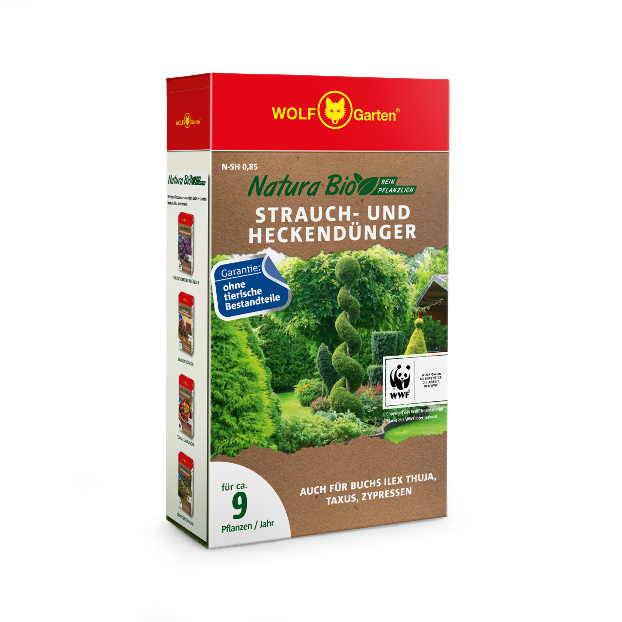 Natura Bio Rasendünger N-SH 0,85 D/A