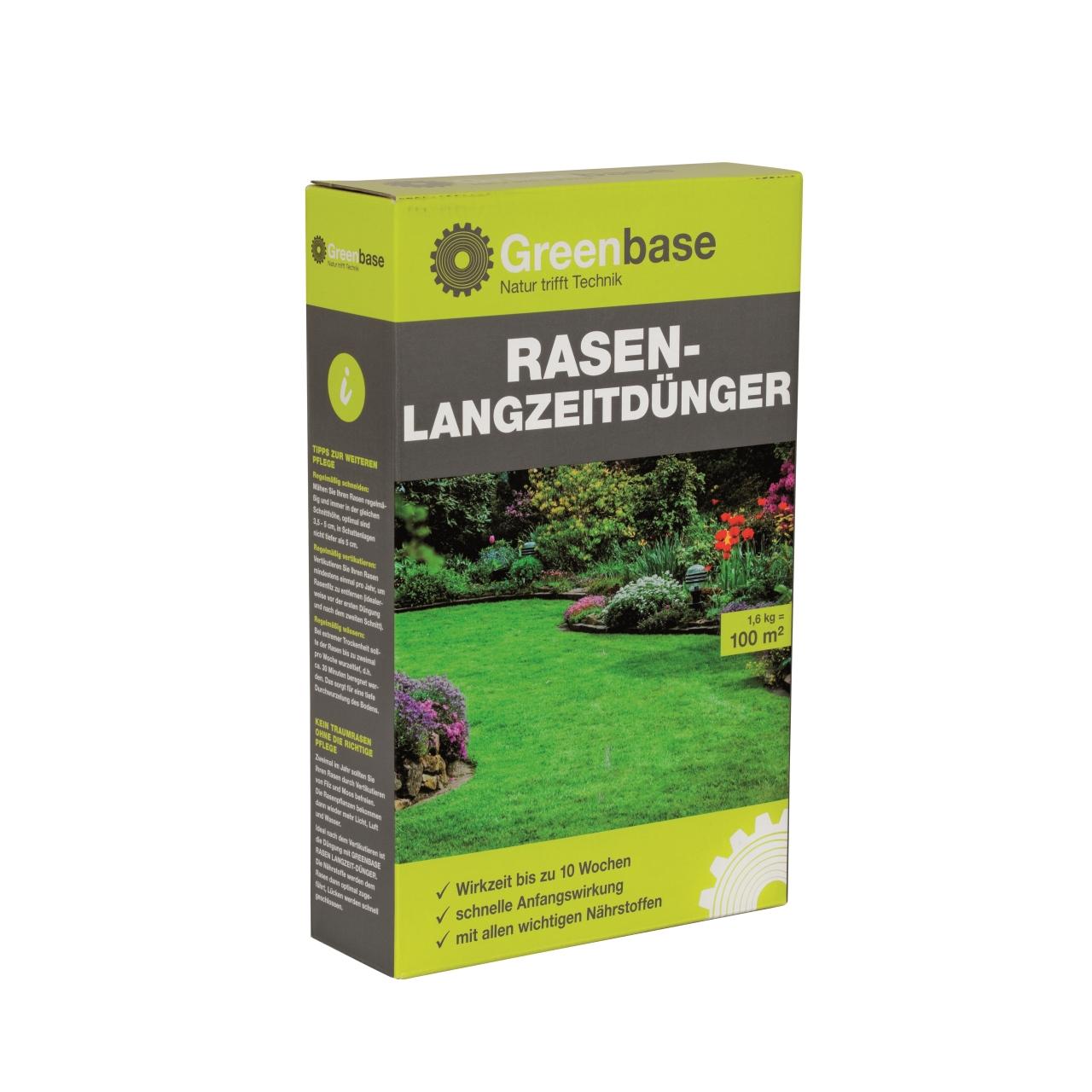 Greenbase Langzeit-Rasendünger LD-A 100 100 qm
