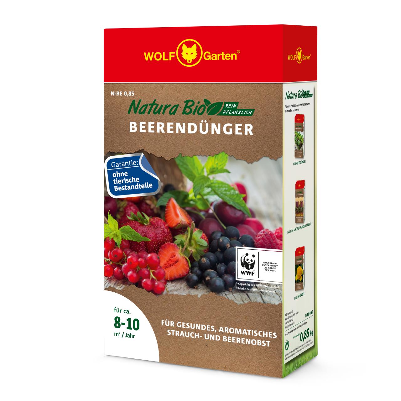 Natura Bio Rasendünger N-BE 0,85 D/A