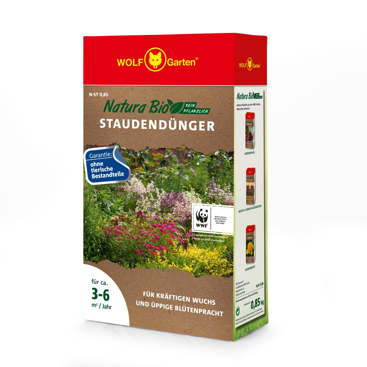 Natura Bio Rasendünger N-ST 0,85 D/A