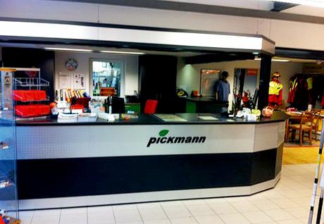 Pickmann Technik im grünen Bereich