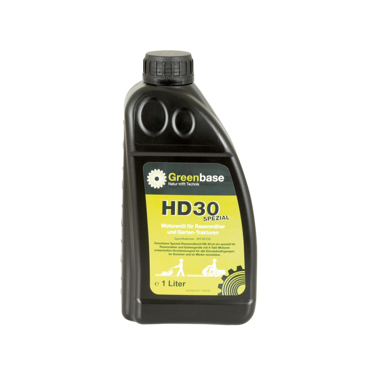 Motorenöl SAE 30 1 Liter Flasche