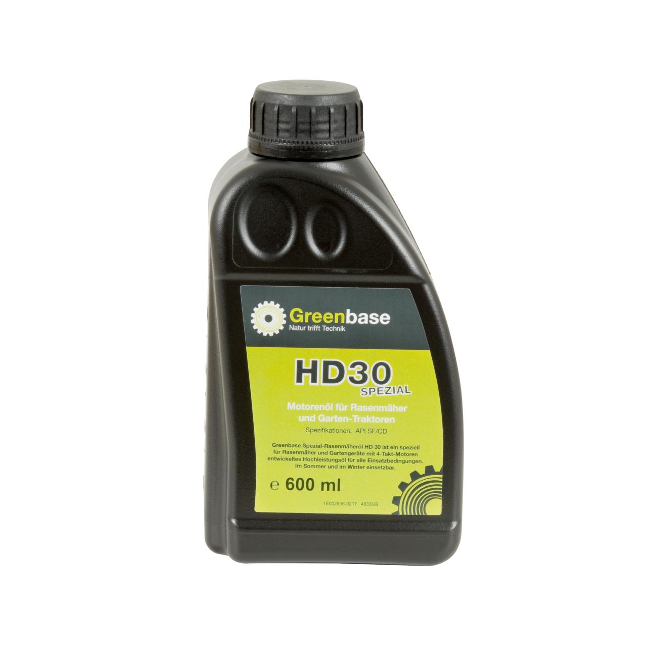Motorenöl SAE 30 600 ML Flasche