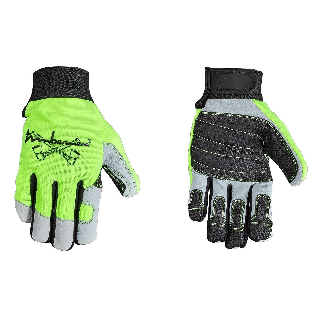 Handschuh MS Pro, schwarz/gelb