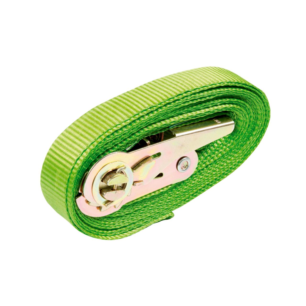 Zurrgurt grün 1-teilig