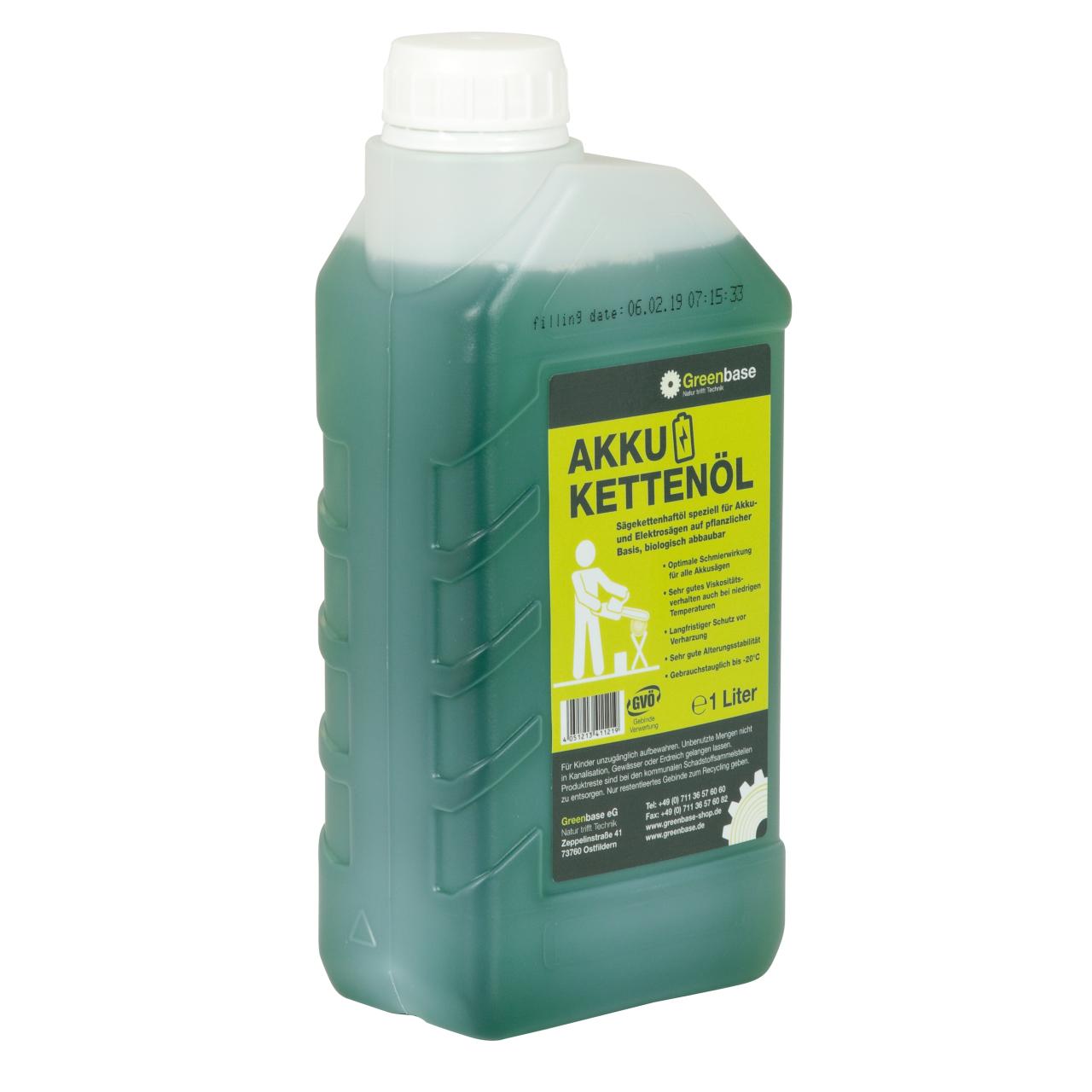 Akku-Kettenöl 1 Liter