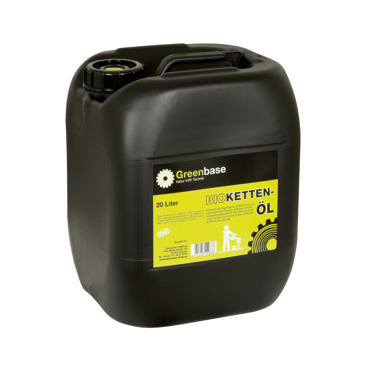 Kettenöl Bio 20 Liter Kanne